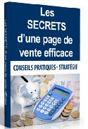 Les Secrets d'une page de vente efficace