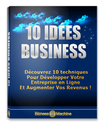 10 Idées Business - Droit de Revente Simple
