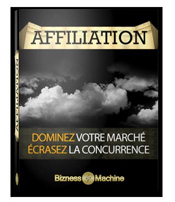 Affiliation - Droit de Revente Maître