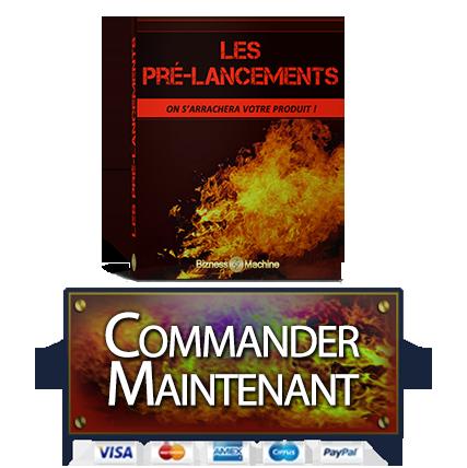 Achetez le Guide Les Pré-Lancements