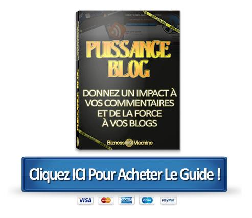 achetez puissance blogs